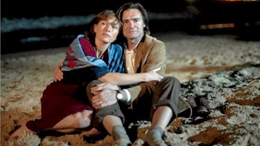 Judy (Claudia Karvan) and Martin (Jeremy Lindsay Taylor), in a scene from <i>Puberty Blues</i>.