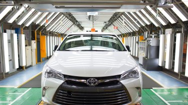 The final Toyota Camry will roll off the factory line on Tuesday afternoon.