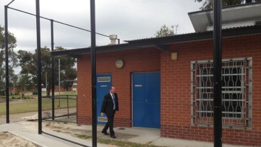 New security fencing was part of the $1.3 million upgrade.