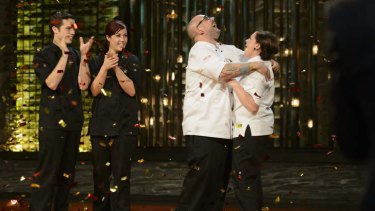 Dan and Steph Mulheron's <i>My Kitchen Rules</i> victory was the most-watched television event of 2013.