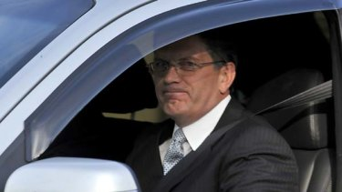 Ted Baillieu is driven out of Government House.