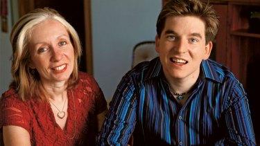 Never lost hope ... Cheryl Koenig and her son Jonathan.