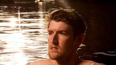 Bather: Yarra River swimming enthusiast Matt Stewart.