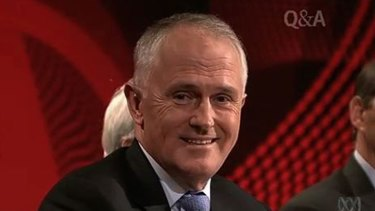 Embarrassing blunder: Coalition communications spokesman Malcolm Turnbull.