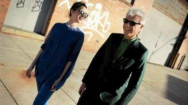 David Byrne and St Vincent.