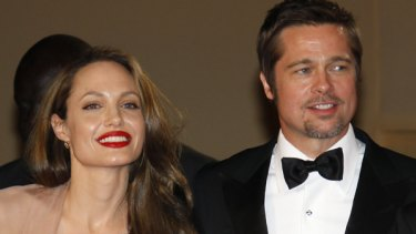 Power couple ... Angelina Jolie and Brad Pitt.