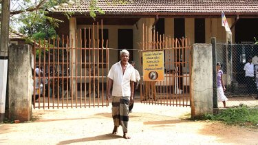A man is bailed from Negombo court which has been overwhelmed by immigration cases.