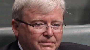 Gotta zip: Former prime minister Kevin Rudd quits politics.