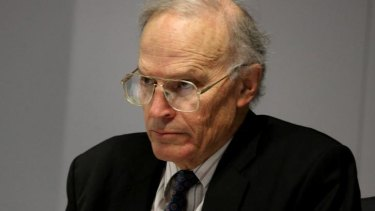 Senator Brandis said commissioner Dyson Heydon (pictured) requested the extension.