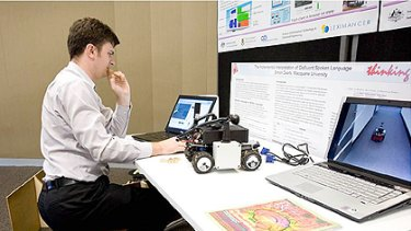 University of Queensland scientists are working on algorithms to help robots rapidly 'learn' about their environment.