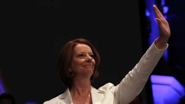"Julia Gillard ... ""polluters will have to pay""."
