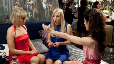 Me? Loose?: As a promiscuous woman looking for love,  Anna Faris fights to be funny in the laboured rom-com <i>What's Your Number?</i>.