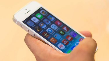 Getting bigger? Apple's current iPhone 5s.