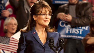 TV movie <i>Game Change</i> scoops four awards, including best actress forJulianne Moore as Sarah Palin (above).