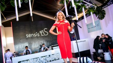 Samatha Jade will perform at the brand new Sensis marquee.