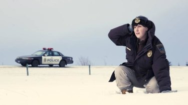 Breakout ... Alison Tolman in the first series of Fargo.