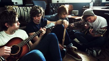 Riding a wave: Australian teen band 5 Seconds of Summer is using social media to build its fan base in London.