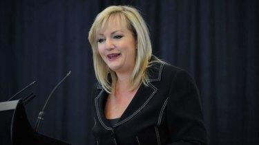Victorian women's minister Heidi Victoria.