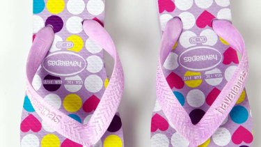 86e12841f11b Havaianas were first created as cheap footwear for Brazil s peasant workers.