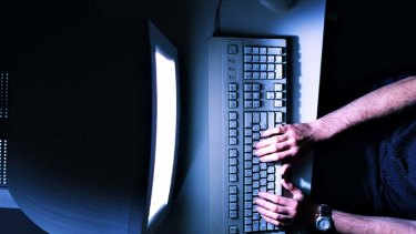 At risk ... criminals could target users of Facebook and social networking sites.