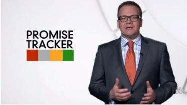 ABC fact check presenter John Barron.