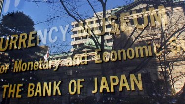 Market move ... the Bank of Japan's actions will have consequences.