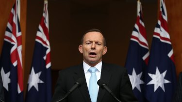 """Prime Minister Tony Abbott does """"not want terrorists loose on our streets"""" but cancelled the passports of 80-odd Australians with plans to leave, presumably to join Islamic State."""