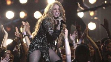 Songstress Shakira.