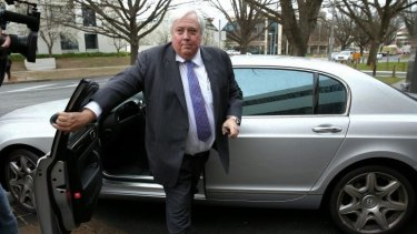 Clive Palmer says the Chinese decision is a win for the environment and mankind.