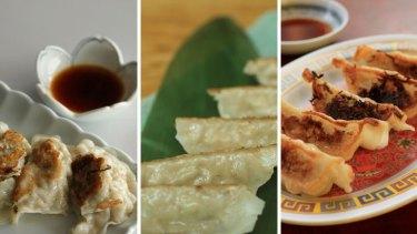 Dumplings of tradition ... gyoza.