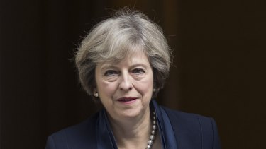 British Prime Minister Theresa May is under pressure to cut immigration.