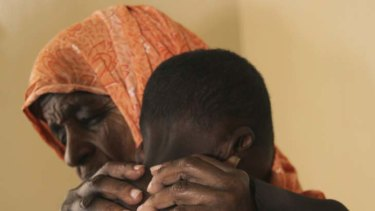 Serious malnutrition ... scores of Somali children are dying.