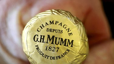"""G.H. Mumm is at present the fastest-growing champagne brand in Australia."""