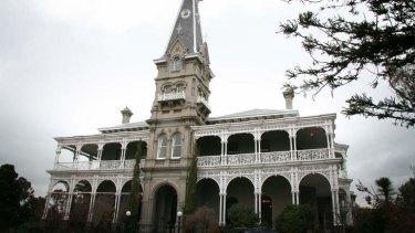 Rupertswood Mansion.