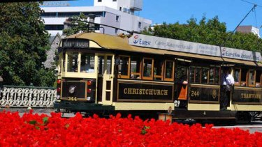 In Christchurch, the W-Class tram is the workhorse of the historical tram fleet.