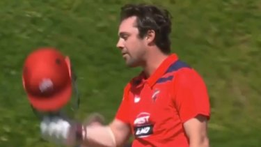 South Australia captain Travis Head has belted a double century against Queensland in the Marsh one-day cup.