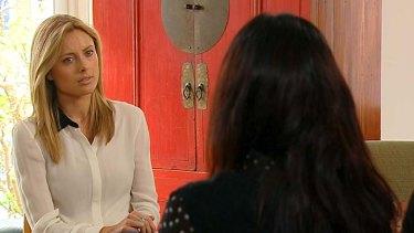 Interview … Allison Langdon talks to Tom's girlfriend.