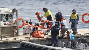 The government says the visa clampdown sends a 'strong message' to people smugglers.