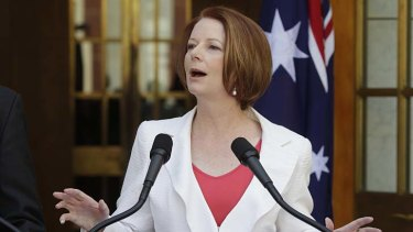 """We all want to wake up in a world where Israel can live behind secure borders"" ... Prime Minister Julia Gillard."