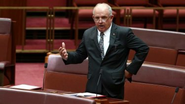 Not happy: Senator John Williams said the PM must go further to win over opponents.
