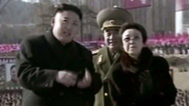 Very good likelihood of survival: Kim Jong-un with his aunt Kim Kyong Hui.