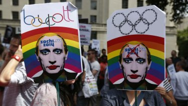 Russia's stance on homosexuality has been globally condemned.