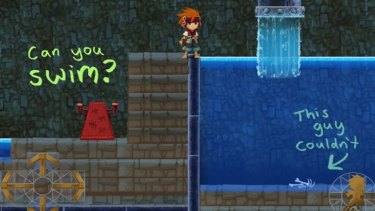 Freedom Fall's dark sense of humour is one of its more endearing elements.