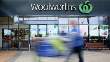 Woolworths trailed Coles in all categories for the first time in the 20-year history of the UBS survey of supermarket suppliers.