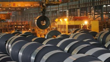 Rolling on ... MSCI says steelmakers may benefit.