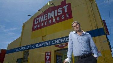 In a word, no: Chemist Warehouse's Damien Gance.