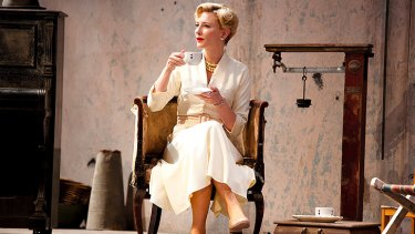 Cate Blanchett in </i>Uncle Vanya</i>.