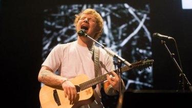 Ed Sheeran kept it simple at his Perth Arena gig.