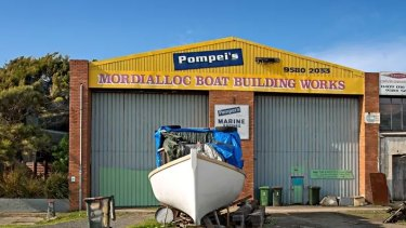 The Pompei boat yard in Mordialloc is being sold for the first time in more than 70 years.