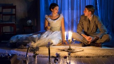 Exquisitely handled: Rose Riley and Harry Greenwood in <i>The Glass Menagerie</i>.